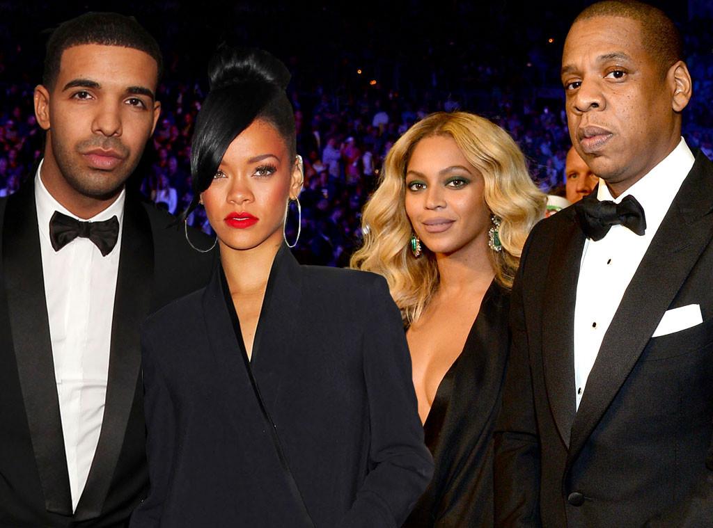 Riri, Drake, Bey, Jay